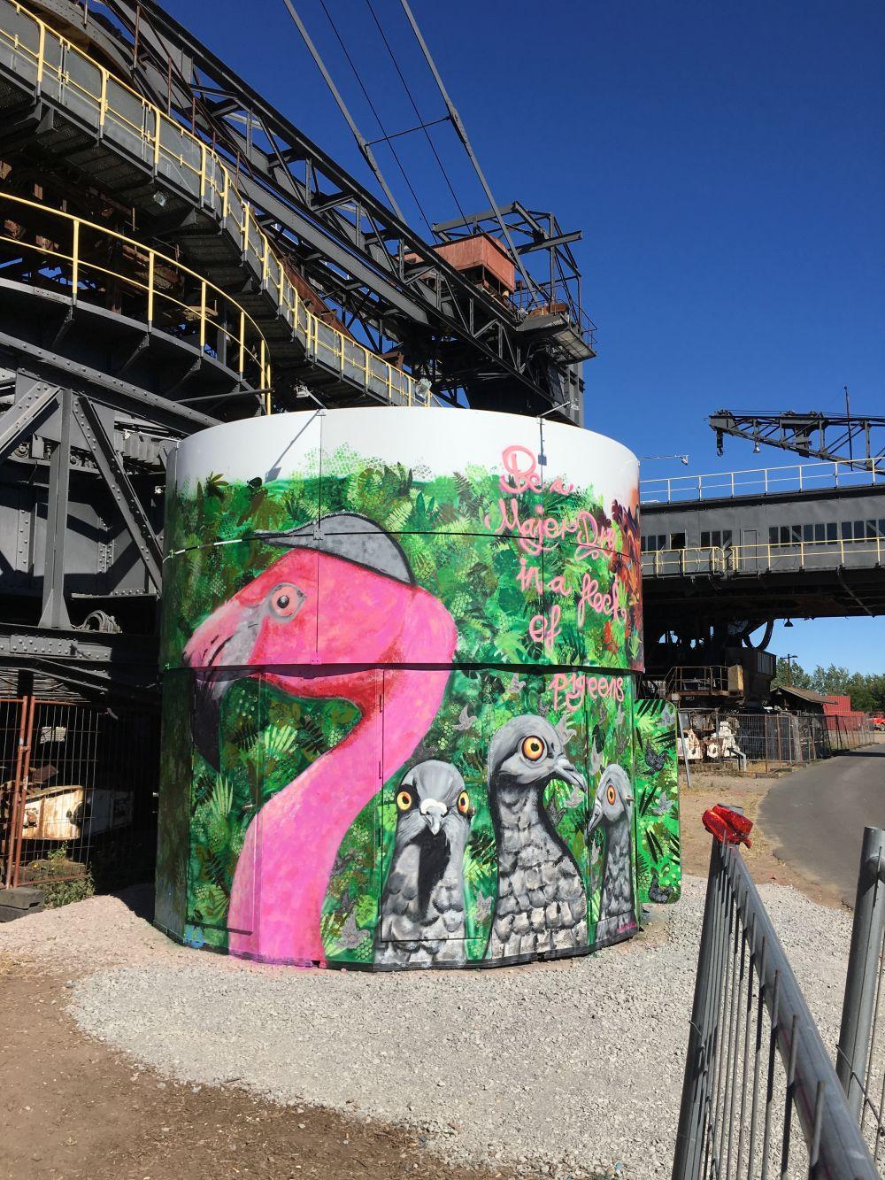 Mural Grafitti Splash Festival