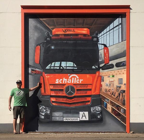 Grafitti Künstler Benjamin Knoblauch